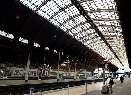 Paddington station: designed by Isambard Kingdom Brunel and opened in 1847.