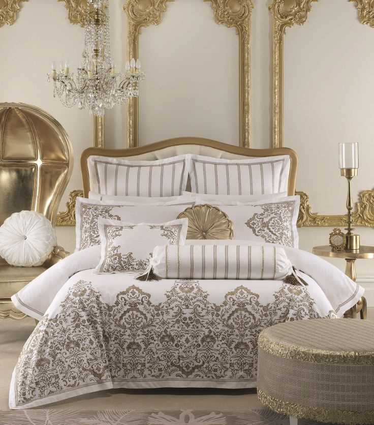 Couture Gold Duvet Cover Set by Savona from Harvey Norman NewZealand