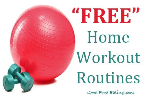 Grab a few of our easy home workout routines, FREE!