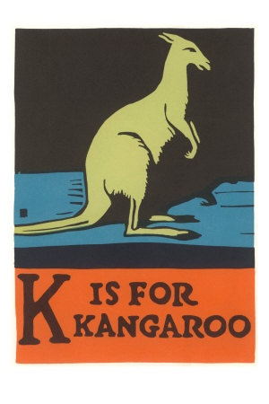 k is for kangaroo