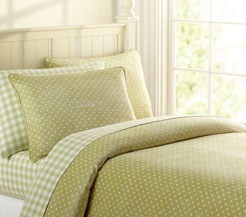 beddingKids Beds, Green, Duvet Covers, Kids Room, Girls Room, Kids Bedding, Dots, Neutral Kids, Kids Kitchens