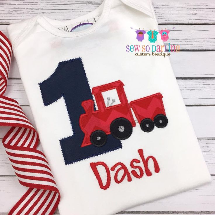 1st Birthday Boy Train shirt first birthday Train outfit