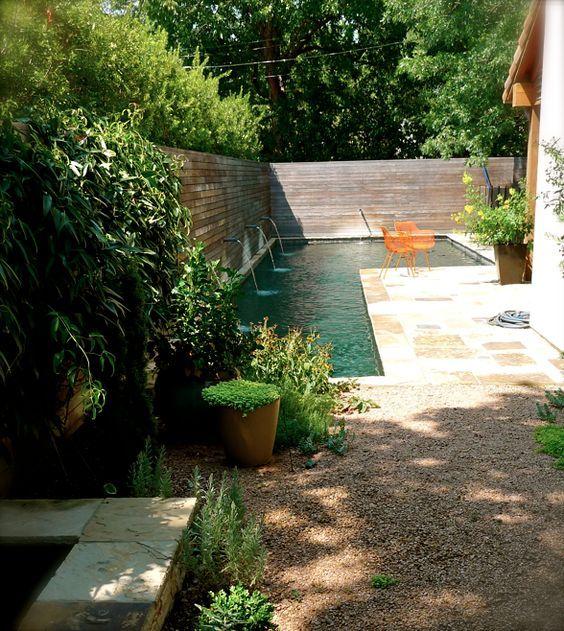 25+ ide terbaik Pool für kleinen garten di Pinterest - gartengestaltung mit kleinem pool