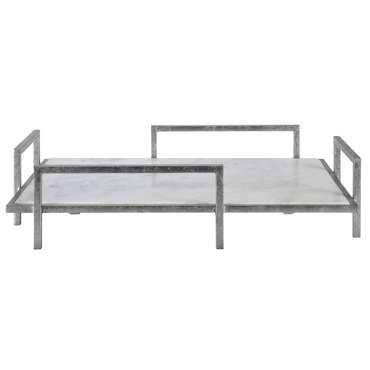Shop Aira Black Square Coffee Table With Modern White Tray: 1000+ Ideas About Marble Tray On Pinterest