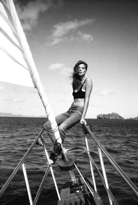 : Nautical Style, Sailaway, Summer Travel, Water World, Cass Birds, Style Summer, Sailing Away, Fashion Editorial, Daria Werbowy