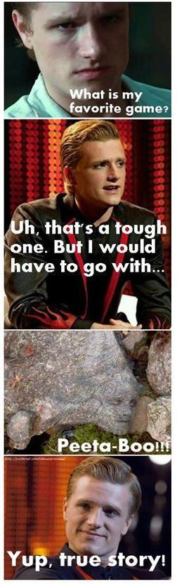 Peeta-Boo! Hunger Games Humor
