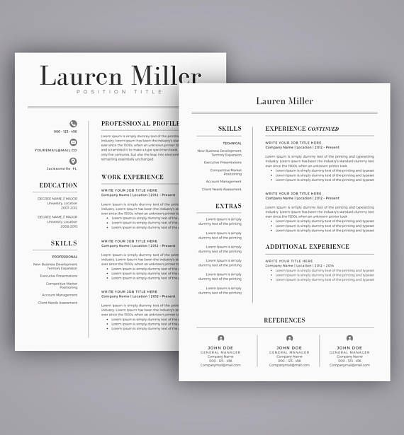 25+ unique Reference letter template ideas on Pinterest Resume - references in resume