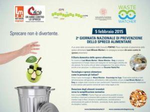 giornata nazionale contro lo spreco alimentare - food waste