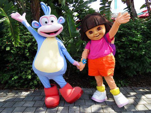 Universal Dora Spongebob Studios And