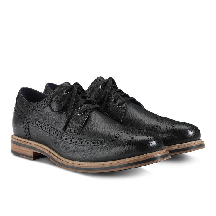 Mens ZEROGRAND Wingtip Oxford Most Comfortable Dress ShoesCole
