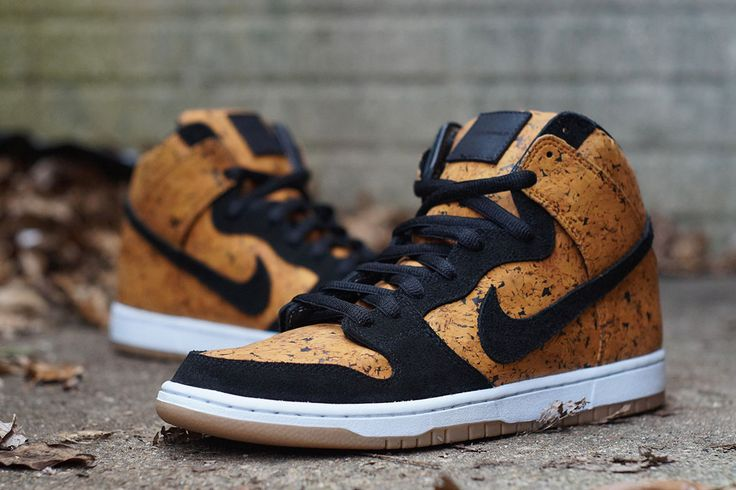 Nike Dunk High SB 'Cork' by JBF Customs  Read more: http://solecollector.com/news/nike-dunk-high-sb-cork-by-jbf-customs