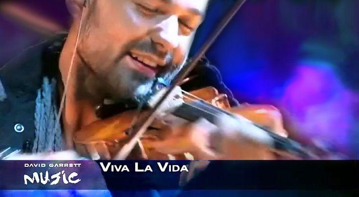 "David Garrett - LIVE ""Viva La Vida"" (Coldplay) MUSIC Album 2012 HD! HQ S..."