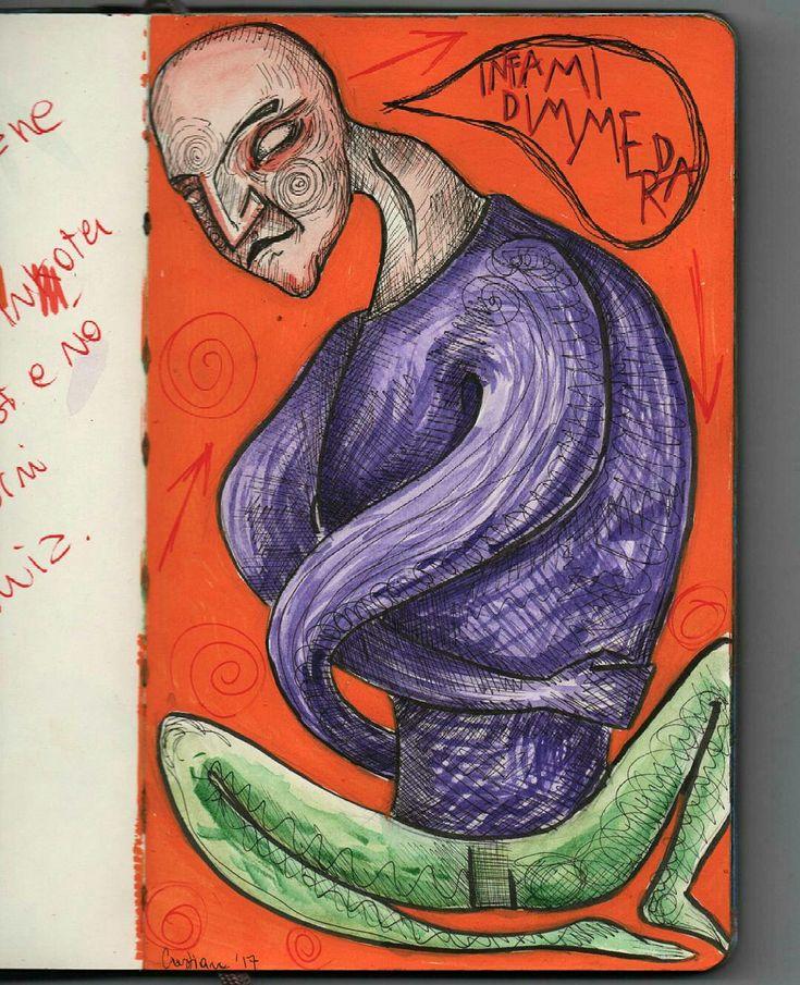 Illustration drawing by @distrofiamuscolare