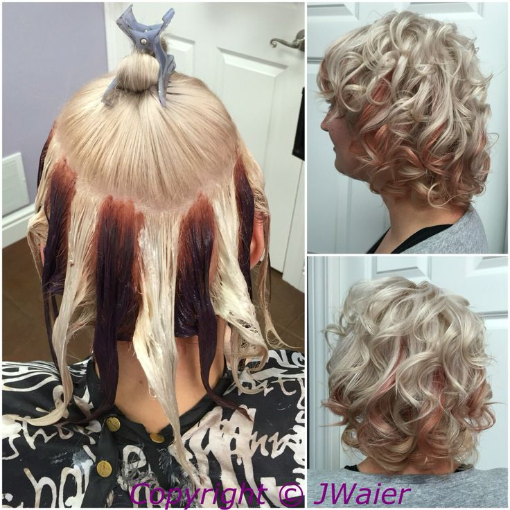 HOT NEW Hair Coloring Technique Pinwheel Color Of 3 Color Hair Dye ...