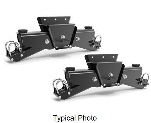 Timbren Silent Ride Suspension For Tandem Axle Trailers W 2 1 2 Round Axles 7 000 Lbs Timbren Tr Trailer Suspension Trailer Axles Trailer
