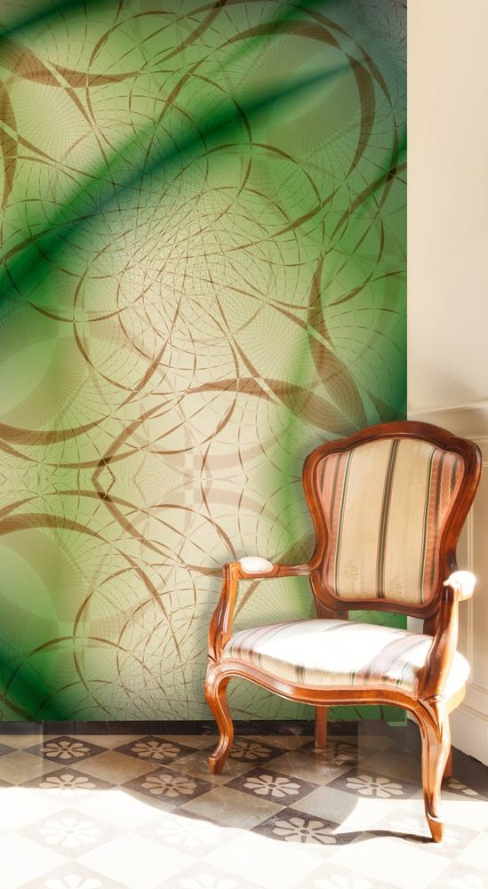 Abstract wallpapers, wall coverings. Get the glamour look with bimago wall murals!