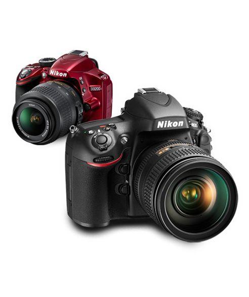 Nikon systemkamera med utfällbar skärm. Filminspelningsfunktion