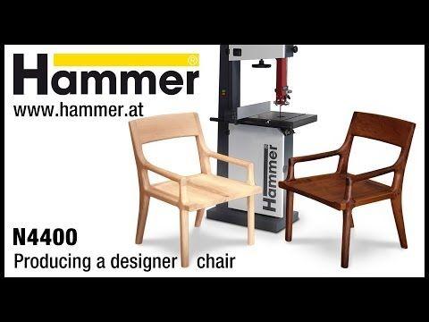 FELDER® N4400 Woodworking. How to make a Bandsaw chair - YouTube
