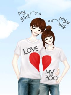 Cute Animated Wallpapers For Mobile Gif Enakei Couple ♡hugs Loves Amp Sweetcouples