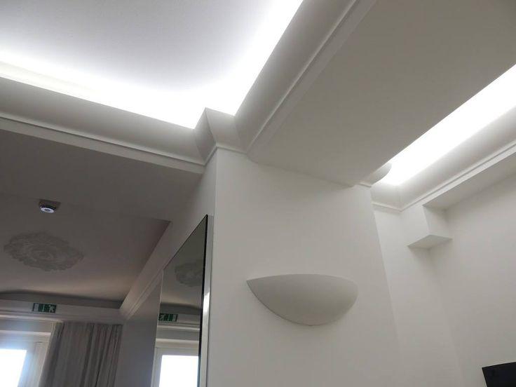 Profilele decorative aduc solutii inovatoare in ce priveste decorul original al peretilor si a tavanului!