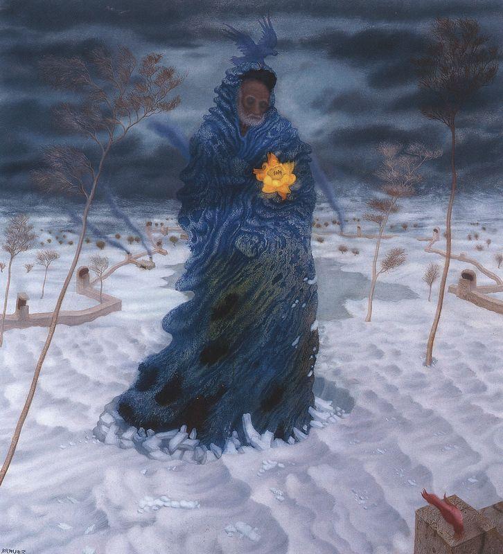 Arik Brauer - Mein Vater im Winter