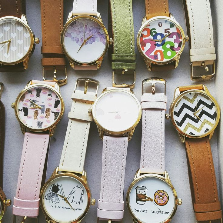 💕 Watches can be fun! Especially these 😊