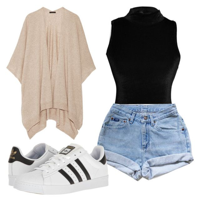 Despojado by paulaabeltrao on Polyvore featuring moda, The Row, Levi's and adidas
