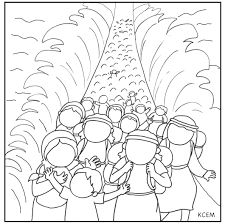 Image result for moses parting the red sea work sheets