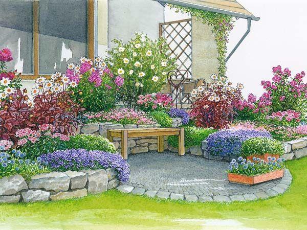 11 best sch ne g rten images on pinterest garten yard design and backyard. Black Bedroom Furniture Sets. Home Design Ideas