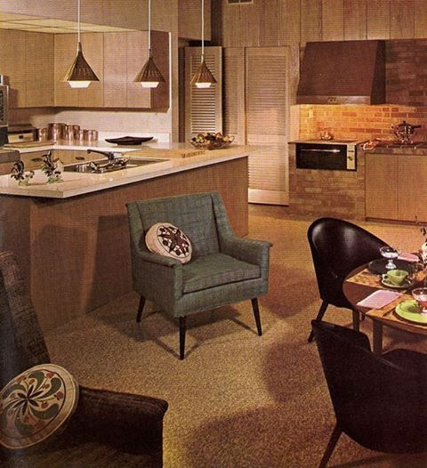 285 Best Images About Retro Kitchens/Dining Rooms On Pinterest