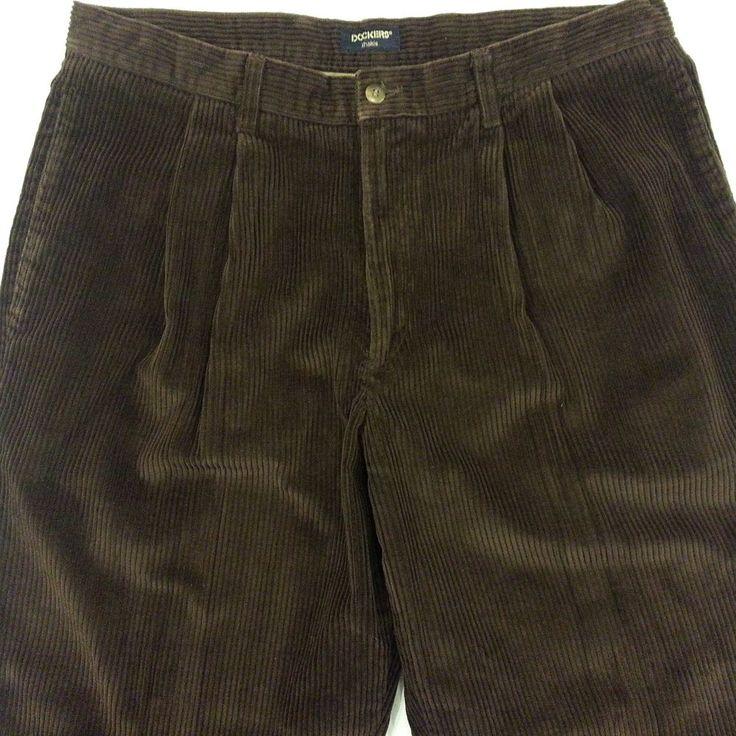 Levis Dockers Khaki Corduroy Pants Mens Size 38x31 W38 L31