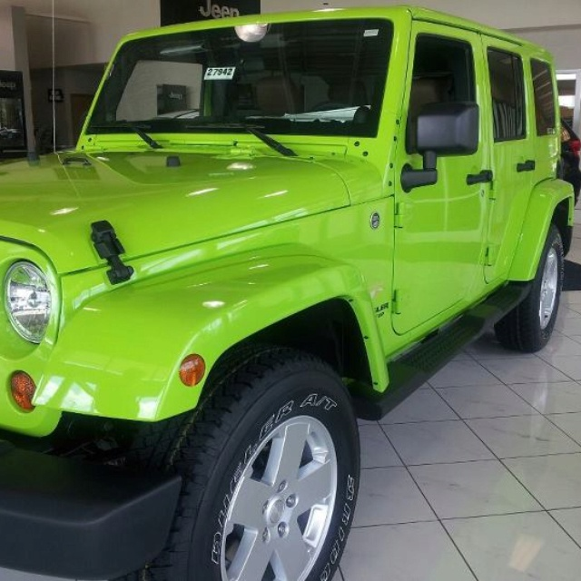 2012 gecko jeep wrangler unlimited.. my dream car