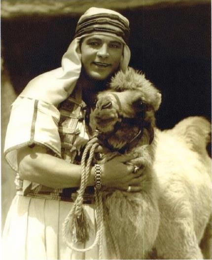 Rudolph Valentino. I know it's the silliest and probably the most cliche thing I could say, but I am still absolutely in love with his characters. He once said something along the lines of 'women don't love me, they love the impression they place on me.' Very true...all the same...