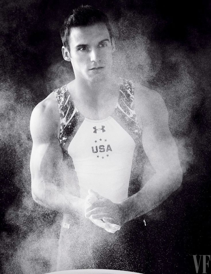 Sam Mikulak. The 2016 Olympics Portfolio, Photographed by Sam Jones