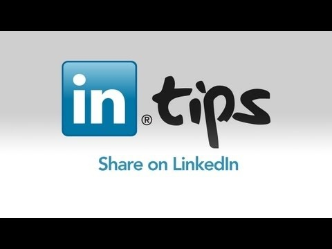 (How to) Share on LinkedIn