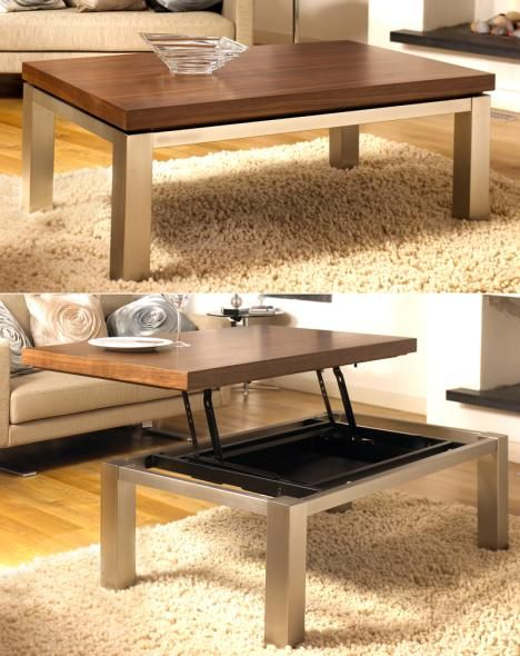 transformer furniture dwell 39 s convertible coffee table. Black Bedroom Furniture Sets. Home Design Ideas