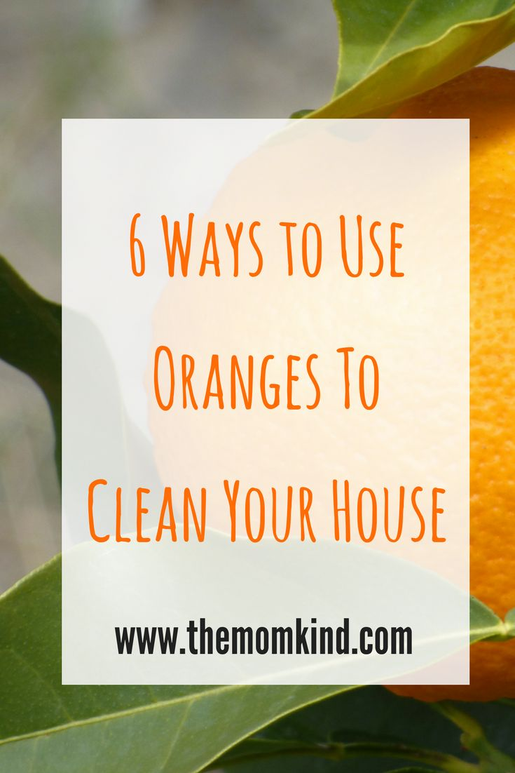How to Use Oranges To Clean Your House! Eco Friendly DIY Cleaning options