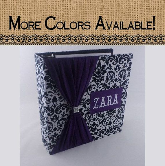 Wedding Photo Album Personalized Bridal Shower gift by JaDazzles