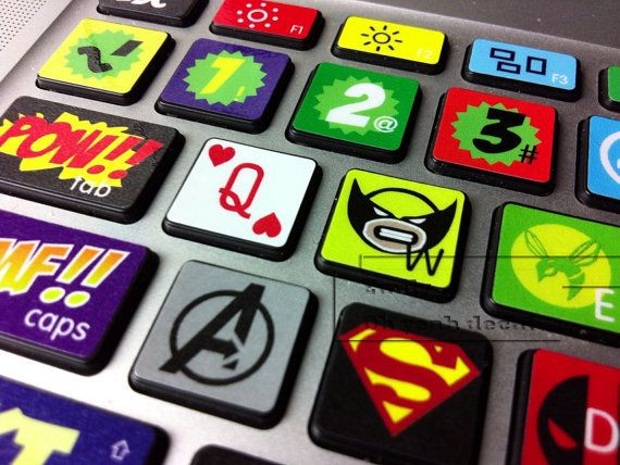 keyboard stickers cool