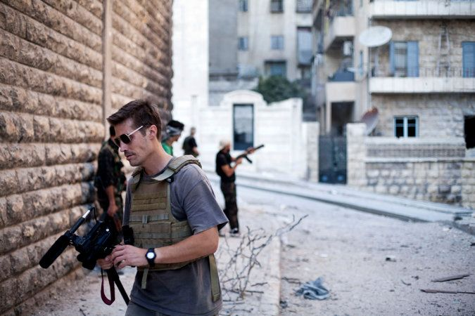 New York Times: Aug. 21, 2014 - ISIS demanded millions in ransom for American journalist before execution