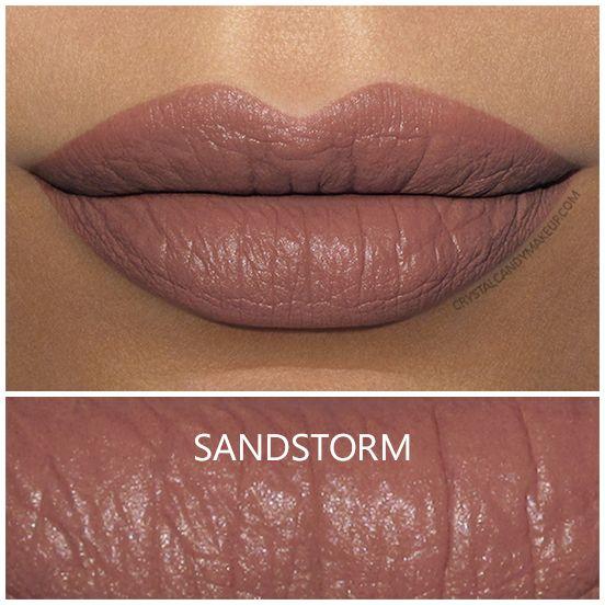NYX Liquid Suede lipstick in Sandstorm