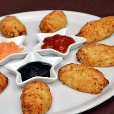 croquettes de chou-fleur au parmesan (au four)