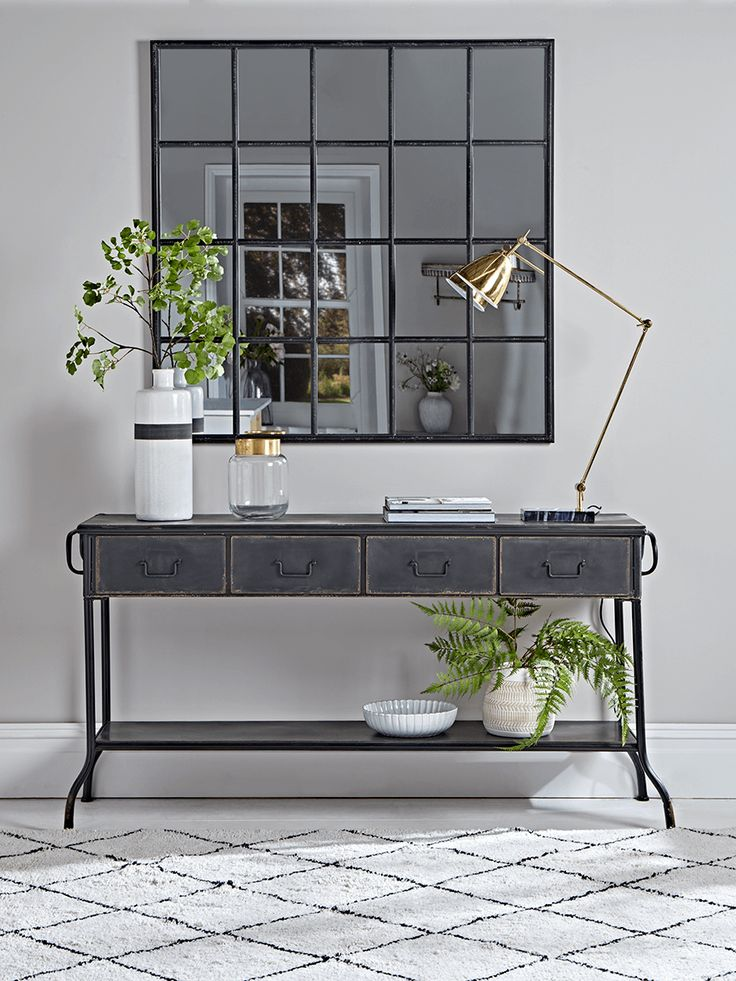 Perfect Console Table Is A Smart Addition To A Home Decor. It Can Act As Both Extra  Storage And A Stylish Piece. Find Out Our Favorite Console Tables That Will  ...