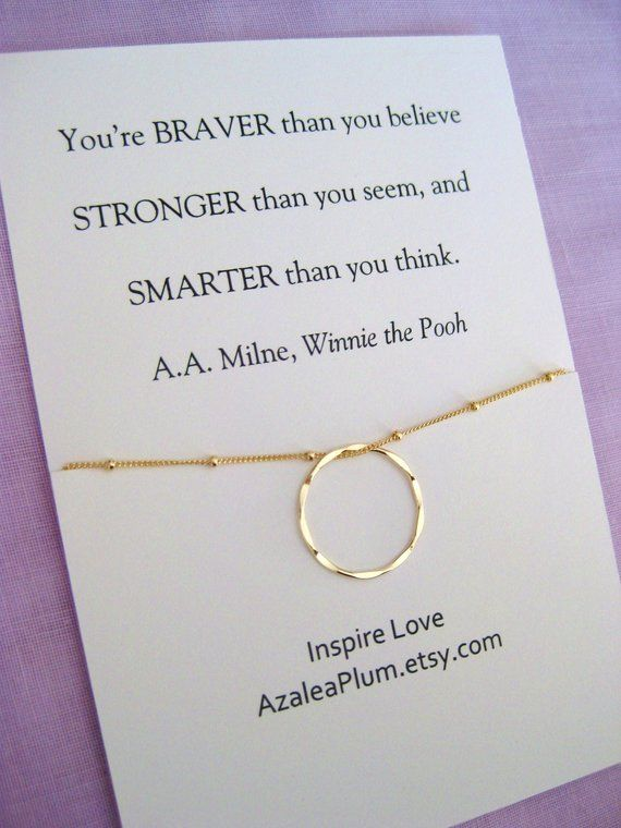 Graduation Gift Retirement Women College 2018 High School 14k Gold Filled Circle Necklace