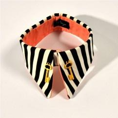 #tarz #original #interesting #tasarım #moda #tasarımcı #design #style #fashion #white #black #pink #collar #stripe #striped