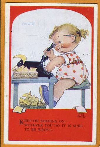 Mabel Lucie Attwell card.
