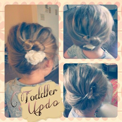 Simple Toddler updo