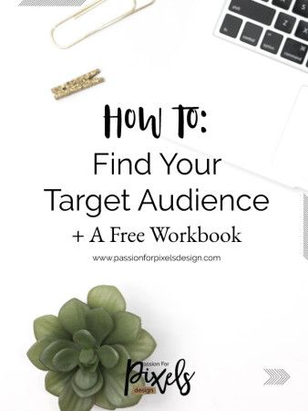 How to find your target audience and why it's important. Your business will be much more successful if you are targeting a specific type of person. Plus free worksheets to help you out!