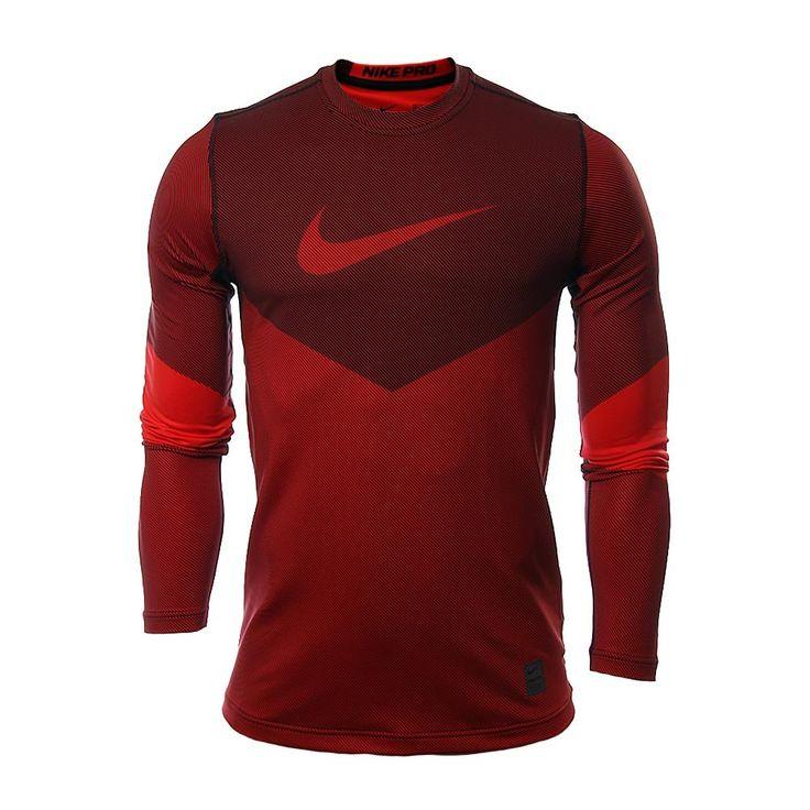 Innovasport - Nike - Playera Pro Hyperwarm Line Crew Fitted - Hombres