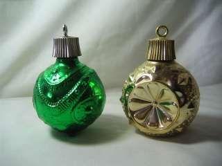 Vintage Avon Bottles Christmas Tree Ornaments